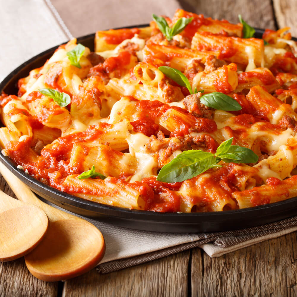 Easy Baked Ziti is super easy to make, streamlined, and very enjoyable.