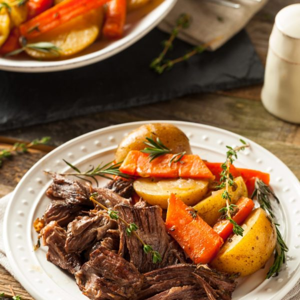 Instant Pot Pot Roast with potatoes and carrots